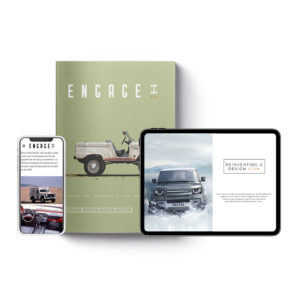 Engage print and digital subscription